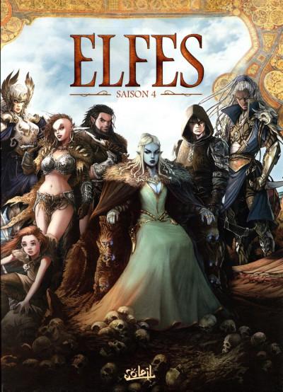Couverture Elfes - coffret tomes 16 à 20