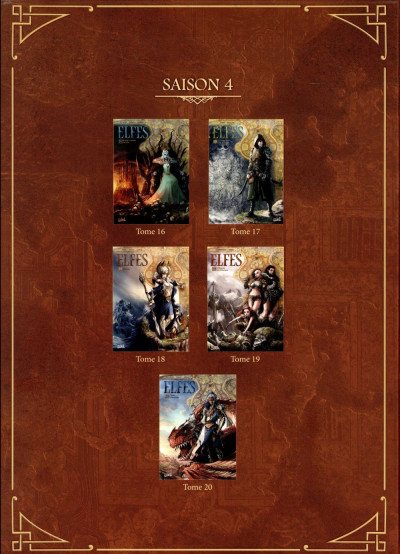 Dos Elfes - coffret tomes 16 à 20