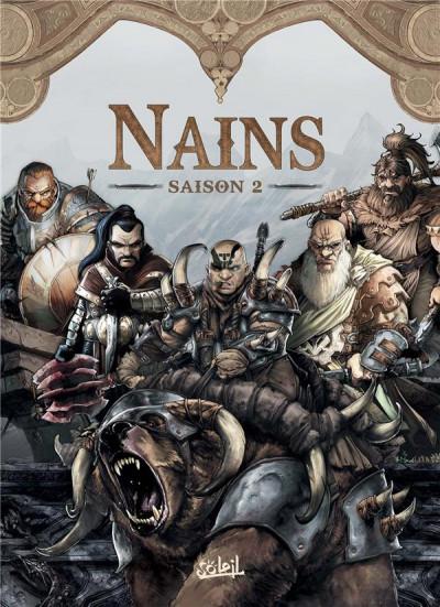 Couverture Nains - coffret tomes 6 à 10