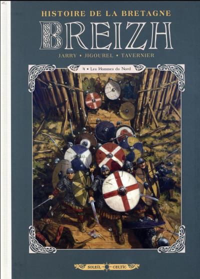 Couverture Breizh - Histoire de la Bretagne tome 4