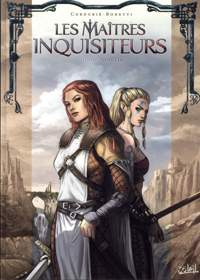 Couverture Les maîtres inquisiteurs tome 8