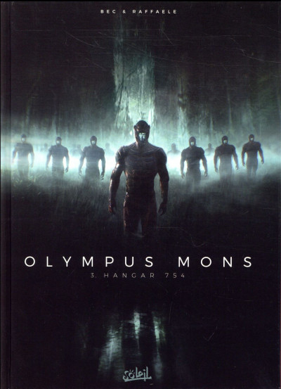 Couverture Olympus mons tome 3