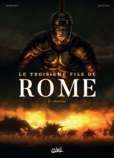 Couverture Le troisième fils de Rome tome 1