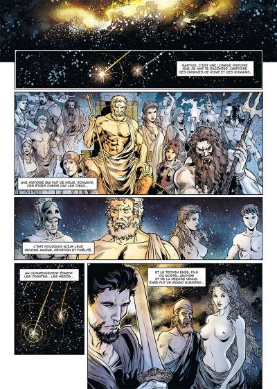 Page 1 Le troisième fils de Rome tome 1