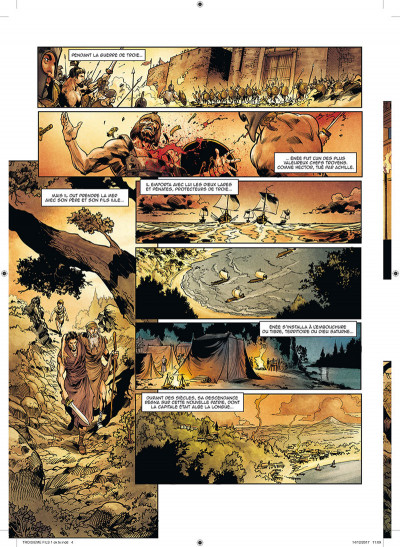 Page 2 Le troisième fils de Rome tome 1