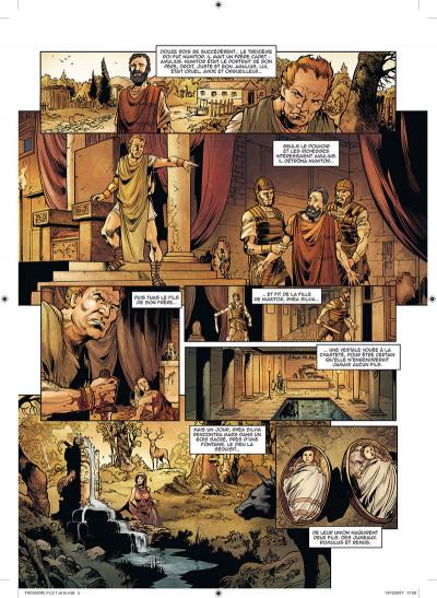 Page 3 Le troisième fils de Rome tome 1