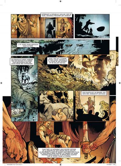 Page 4 Le troisième fils de Rome tome 1