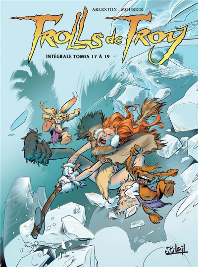 Couverture Trolls de Troy - intégrale tomes 17 à 19