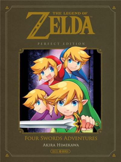 Couverture The legend of Zelda - four swords adventures - perfect edition