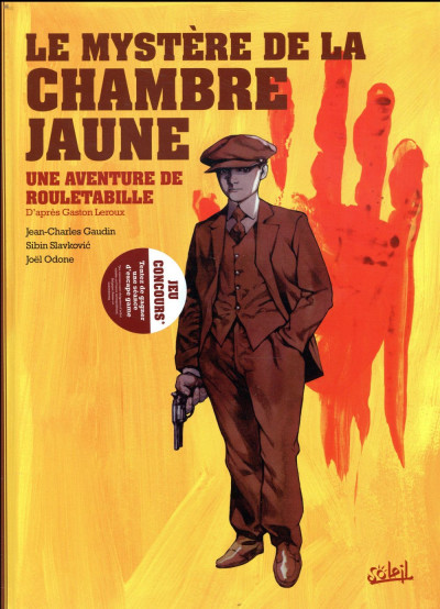 Couverture Rouletabille tome 1