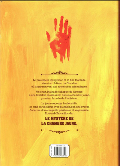 Dos Rouletabille tome 1