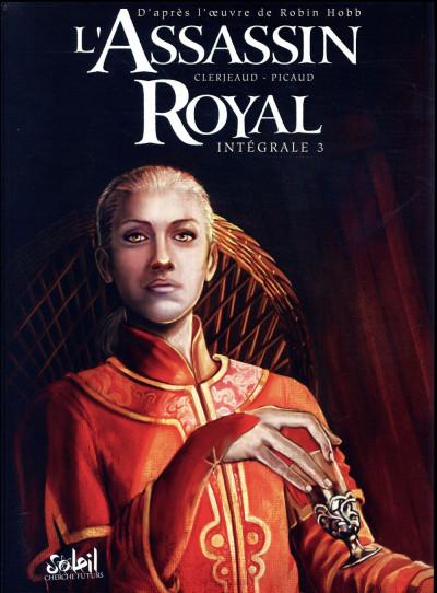 Couverture L'assassin royal - intégrale tome 3