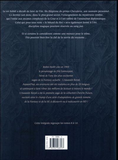 Dos L'assassin royal - intégrale tome 3