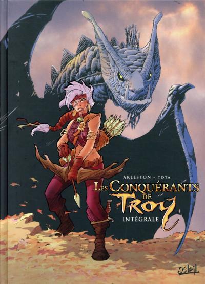 Couverture Les conquérants de Troy - intégrale