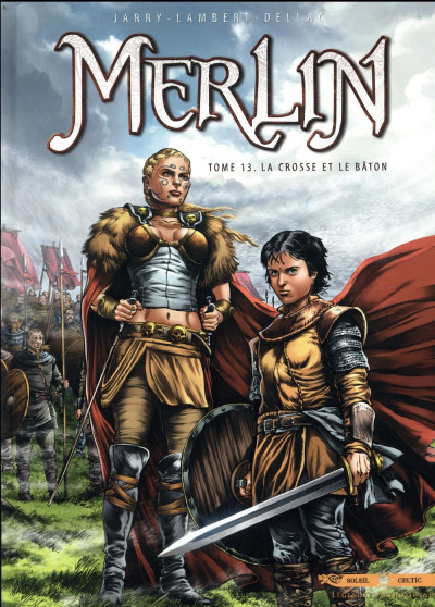 Couverture Merlin tome 13