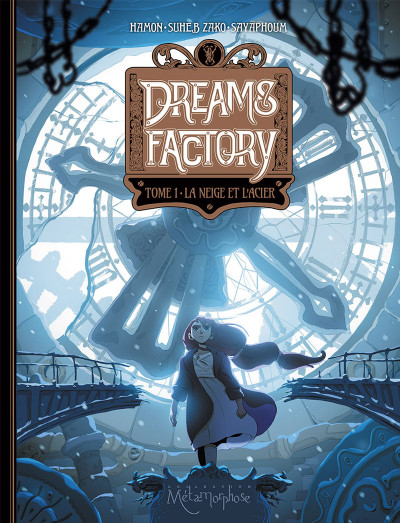 Couverture Dreams factory tome 1