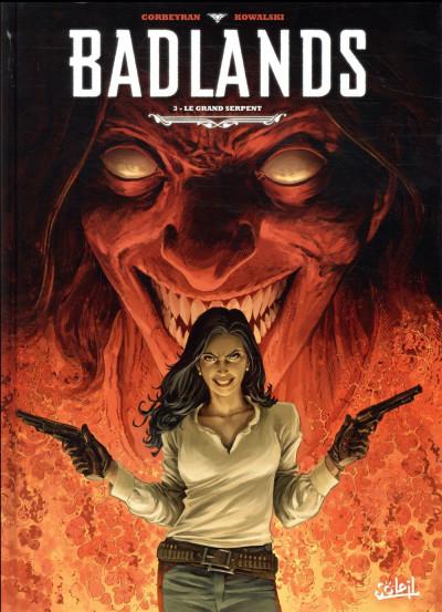 Couverture Badlands tome 3