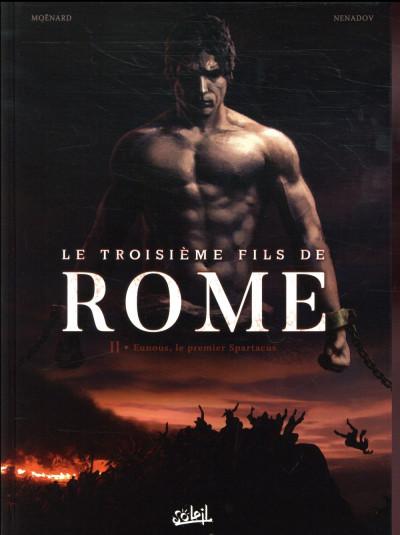 Couverture Le troisième fils de Rome tome 2