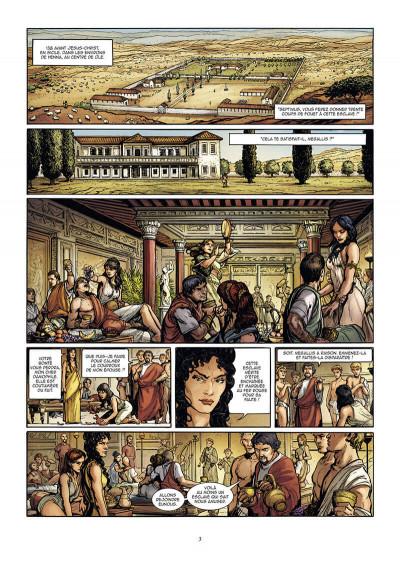 Page 3 Le troisième fils de Rome tome 2
