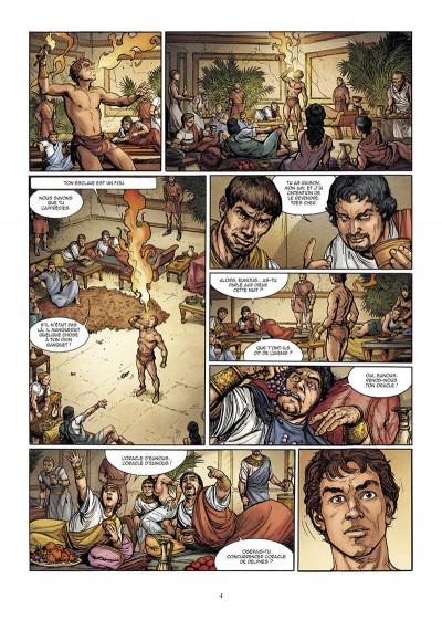 Page 4 Le troisième fils de Rome tome 2