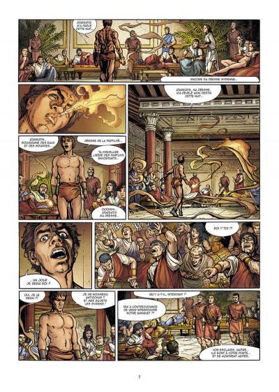 Page 5 Le troisième fils de Rome tome 2