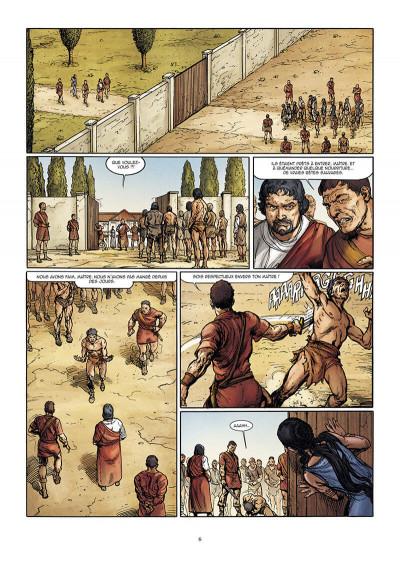 Page 6 Le troisième fils de Rome tome 2