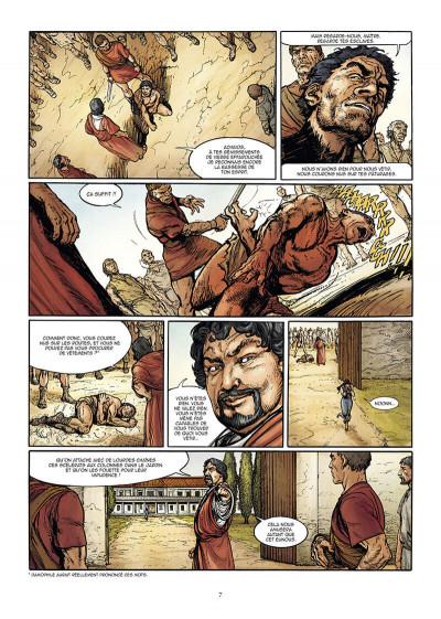 Page 7 Le troisième fils de Rome tome 2