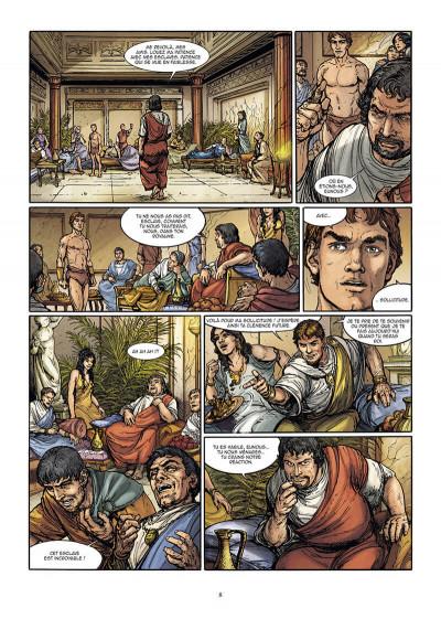 Page 8 Le troisième fils de Rome tome 2