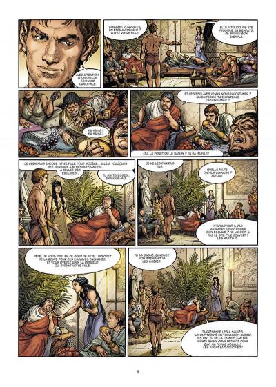 Page 9 Le troisième fils de Rome tome 2