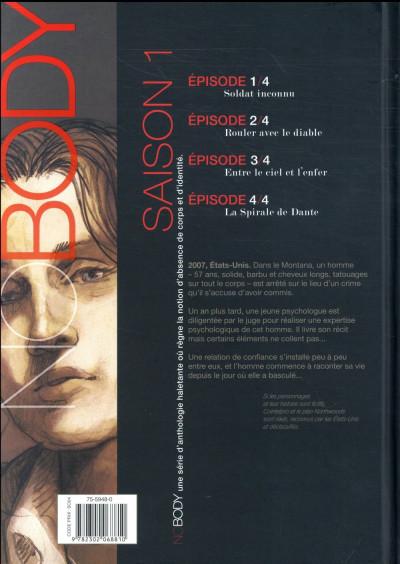 Dos No body - saison 1 tome 4