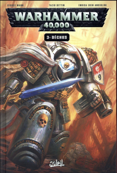 Couverture Warhammer 40 000 tome 3