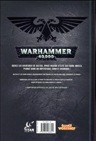 Dos Warhammer 40 000 tome 3