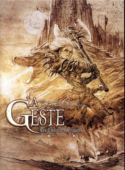 Couverture La geste des chevaliers dragons - intégrale tome 6 - Tomes 21 à 24