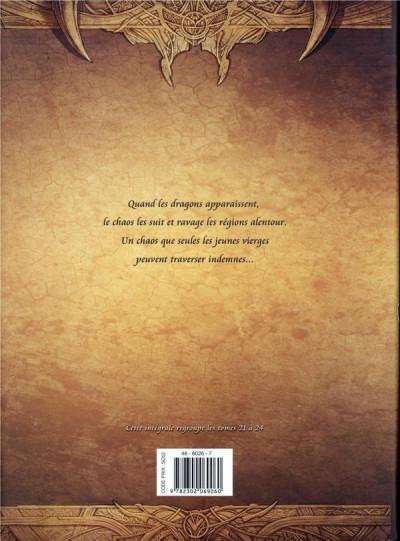 Dos La geste des chevaliers dragons - intégrale tome 6 - Tomes 21 à 24