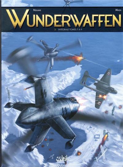 Couverture Wunderwaffen - intégrale tome 3