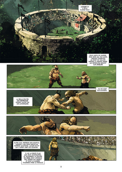 Page 1 Excalibur - chroniques tome 5