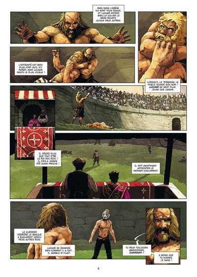 Page 2 Excalibur - chroniques tome 5