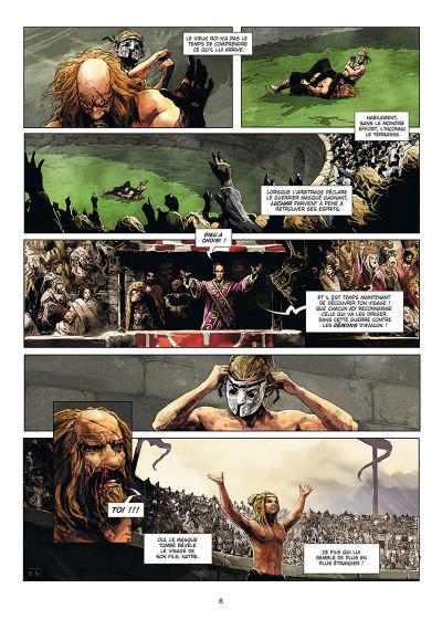 Page 4 Excalibur - chroniques tome 5
