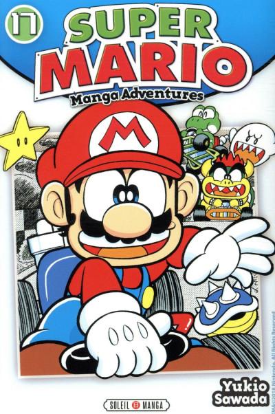 Couverture Super Mario - manga adventures tome 17