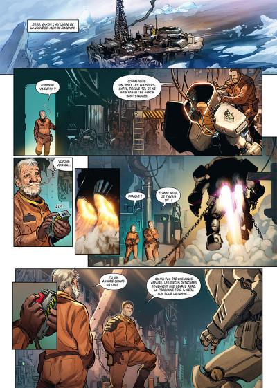 Page 1 Ghost war tome 1 + ex-libris offert