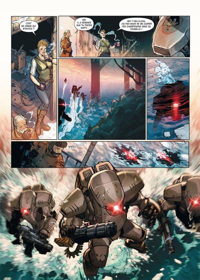 Page 3 Ghost war tome 1 + ex-libris offert