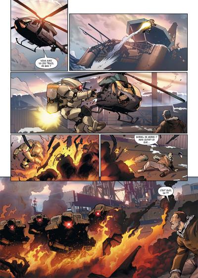 Page 4 Ghost war tome 1 + ex-libris offert