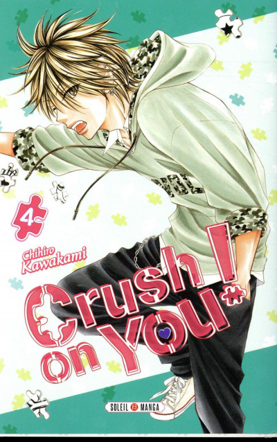 Couverture Crush on you ! tome 4