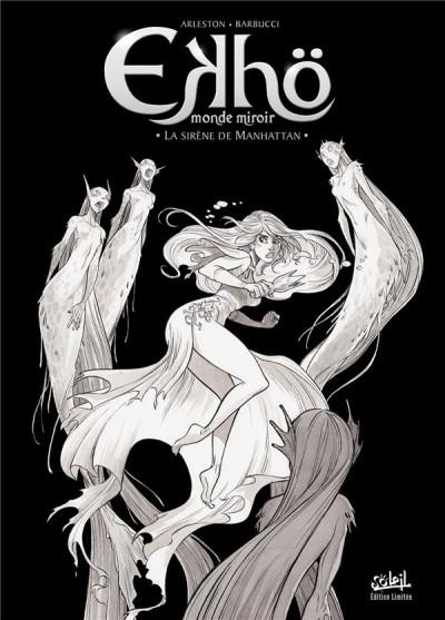 Couverture Ekhö - monde miroir - édition n&b tome 8