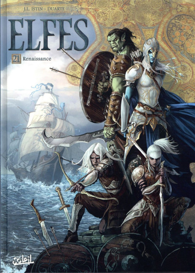 Couverture Elfes tome 21