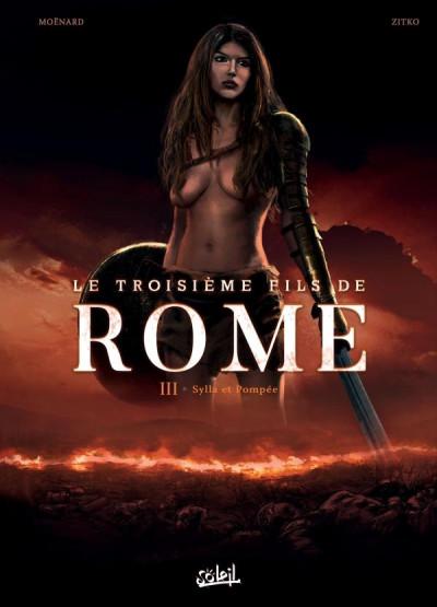 Couverture Le troisième fils de Rome tome 3