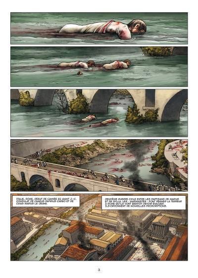 Page 1 Le troisième fils de Rome tome 3