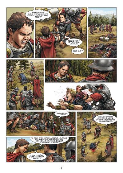 Page 3 Le troisième fils de Rome tome 3