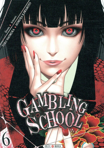 Couverture Gambling school tome 6