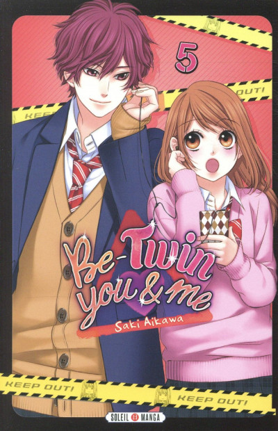 Couverture Be-twin you & me tome 5